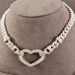 Brighton Urban Lights Swarovski Heart Necklace